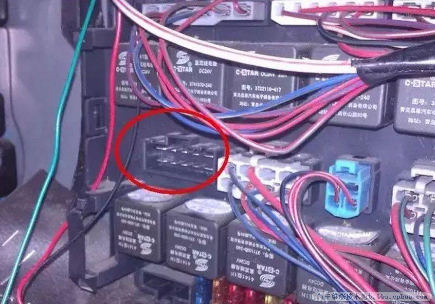 汽车维修电路故障排
