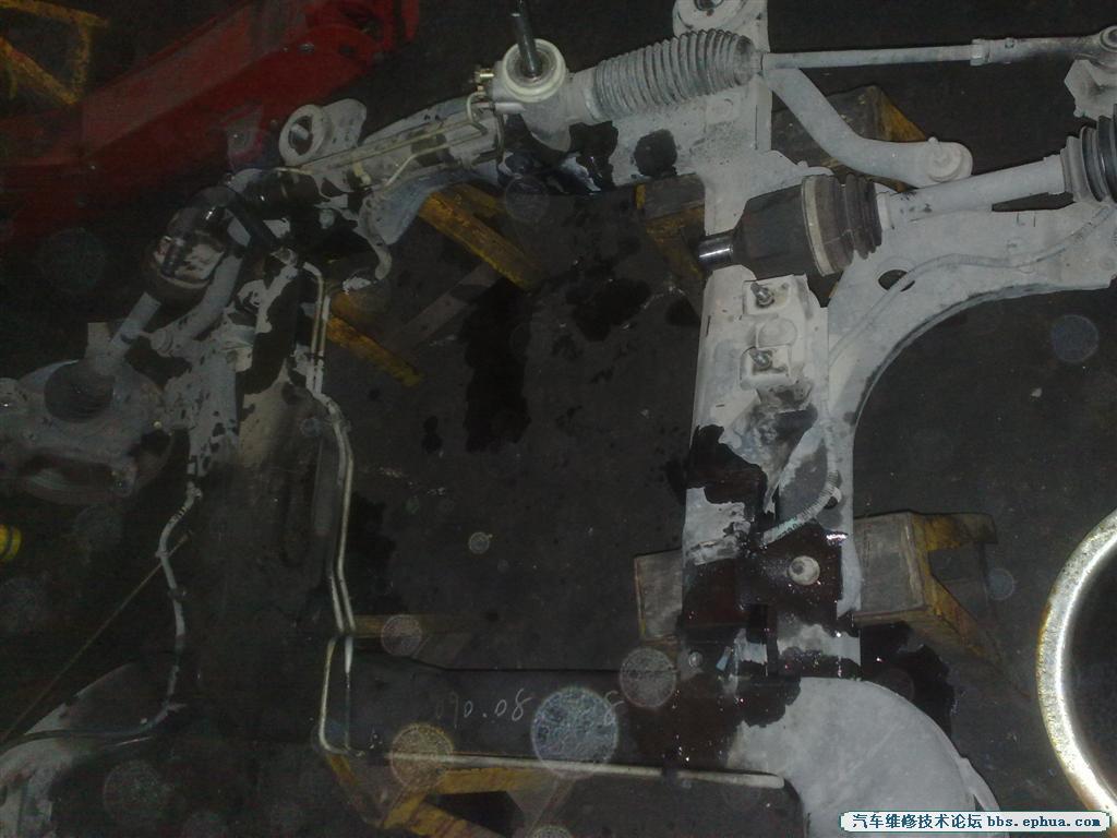 别克GL8起动起动马达异响,更换飞轮
