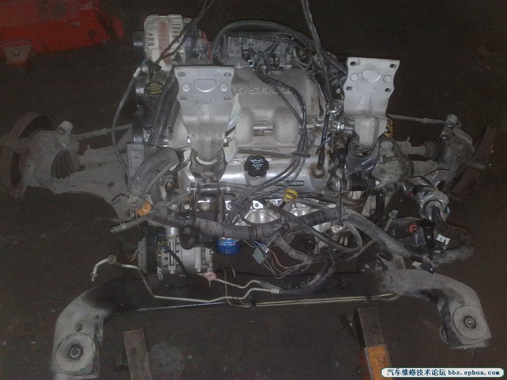 别克GL8起动起动马达异响,更换飞轮 汽车维修原创案例 Discuz高清图片
