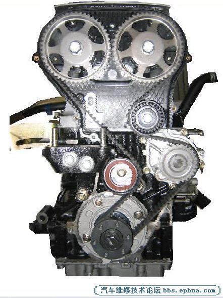 简述 奇瑞qq6(sqr473f发动机)正时