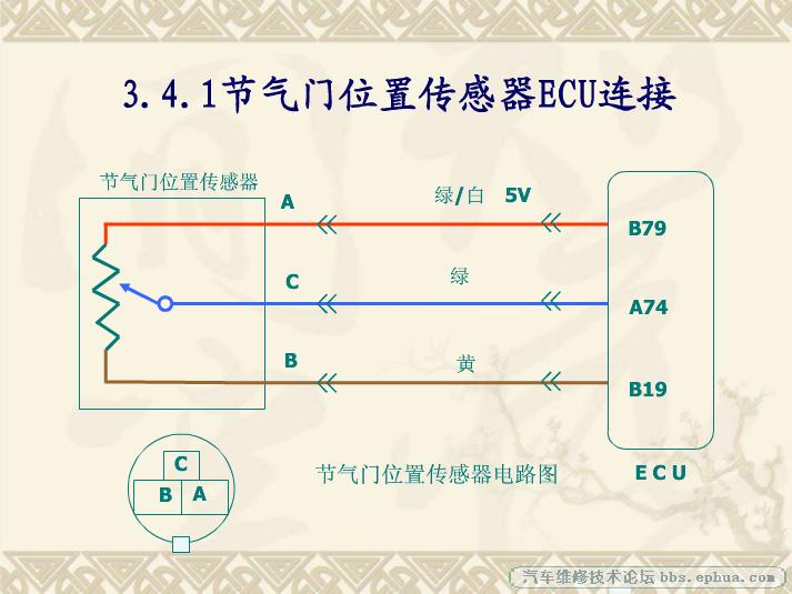 分享五菱B12电控发动机电路 发动机专区 Discuz图片