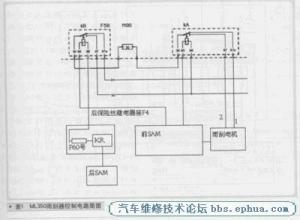 奔驰ML350发动机车身电气故障