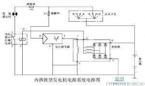 汽車發電機調節器-內搭鐵發電機與外搭鐵發電機的區別
